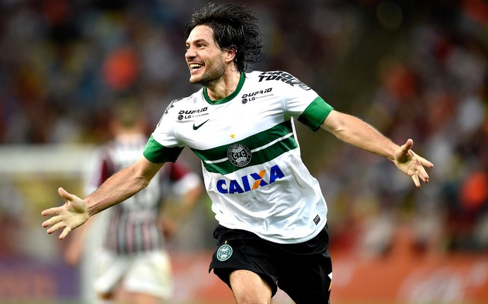 Germano, Fluminense e Coritiba (Foto: Getty Images)