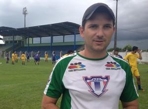 Heder Palmonari, treinador do Ariquemes (Foto: Franciele do Vale)