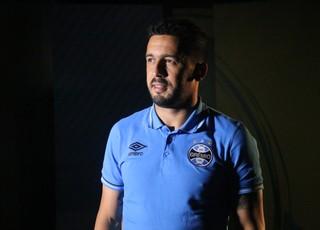 Edilson Grêmio (Foto: Eduardo Deconto/GloboEsporte.com)