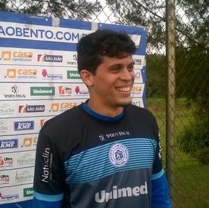Rodrigo Viana, goleiro, São Bento, Sorocaba (Foto: Guilherme Giavoni)