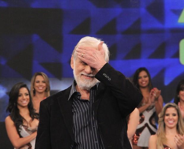 Francisco Cuoco (Foto: Domingão do Faustão / TV Globo)