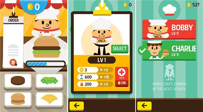 250K Chefes Burger é um divertido game culinário para Windows Phone (Foto: Divulgação/Windows Phone Store)