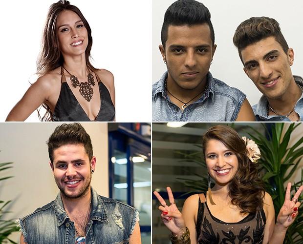 Participantes revelam o status de relacionamento e muito mais (Foto: Gshow/TV Globo)