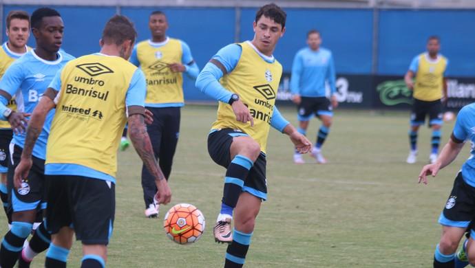 Giuliano, Grêmio, treino (Foto: Eduardo Moura / GloboEsporte.com)