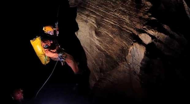 A Agência Espacial Europeia está usando cavernas na ilha da Sardenha como base de treinamento para os astronautas. (Foto: AEE)