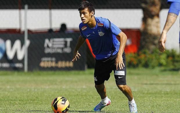 neymar treino santos (Foto: Ricardo Saibun/Divulgação Santos FC)