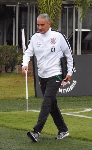 Tite Corinthians (Foto: Diego Ribeiro)
