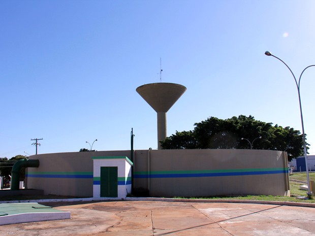 Um dos poços de de captação de fonte subterrânea da Águas Guariroba em Campo Grande (Foto: Divulgação/Aguas Guariroba)