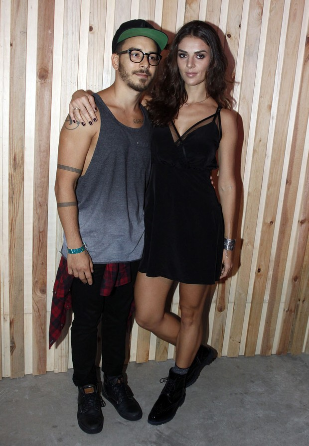 Junior LIma e Monica Benini (Foto: Celso Tavares/EGO)