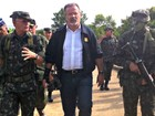 Ministros da Defesa do Brasil e Colômbia cumprem agenda no AM