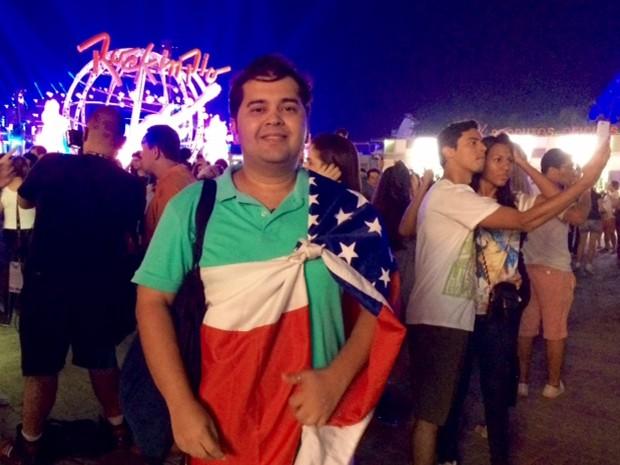 G1 - Família do AM que esteve nos 7 dias de Rock in Rio planeja ... 99edc591c99