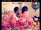 Angélica faz festinha para Eva: 'Cinco meses da minha princesa'