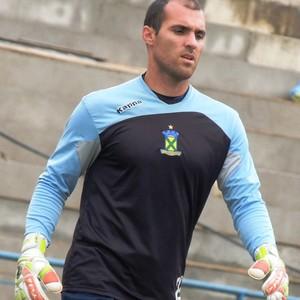 Roberto ex-goleiro do Santo André (Foto: Fabrício Cortinove)