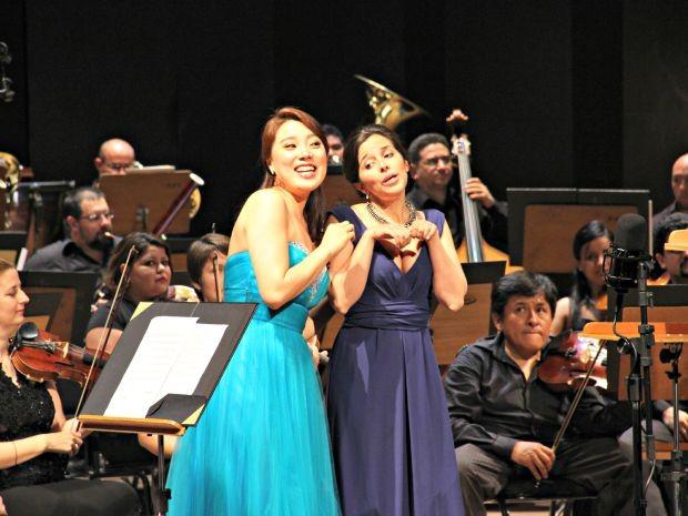 Sopranos foram vencedoras do Concurso Rainha Elisabeth (Foto: Sérgio Rodrigues/G1 AM)