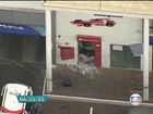 Criminosos explodem caixa eletrônico em Higienópolis