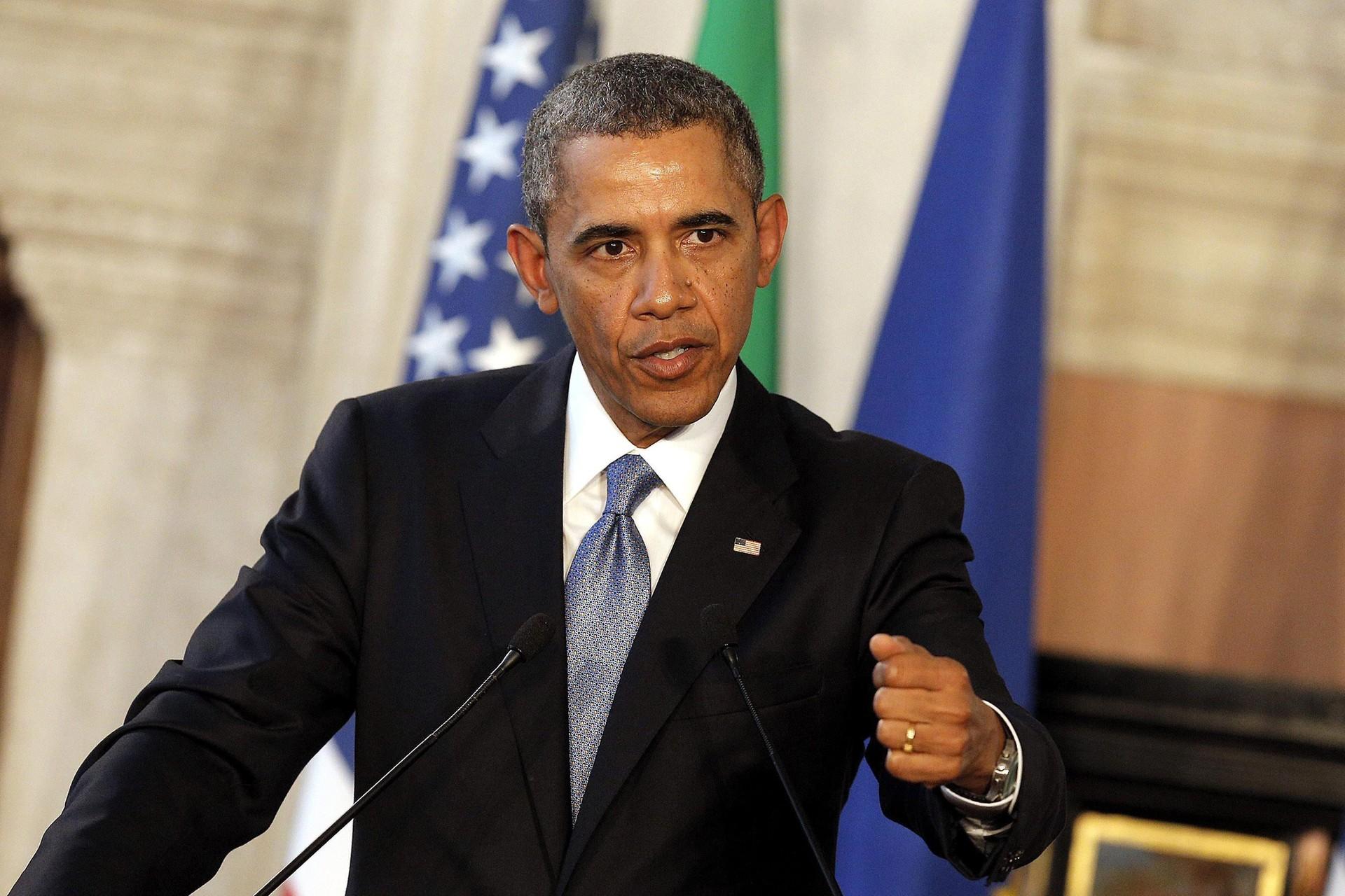 Obama, neste dia 27, em reunião no Vaticano (Foto: Agência EFE)