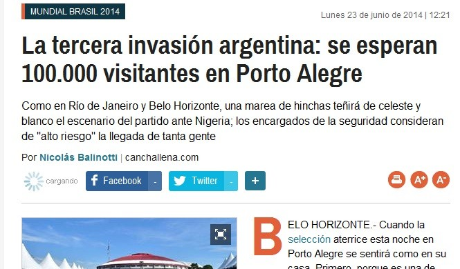la nacion (Foto: Reprodução)