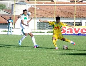 Francana x Mirassol, lateral esquerdo Vinicius (Foto: Vinicius de Paula / Agência Mirassol FC)
