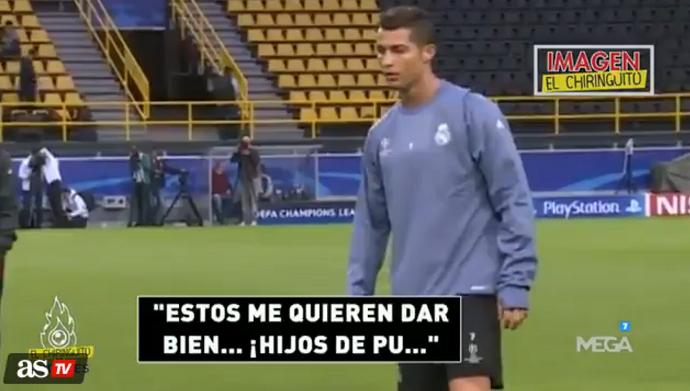 BLOG: Programa mostra irritação de Cristiano Ronaldo em treino do Real Madrid