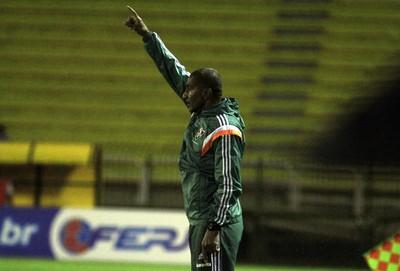 Cristóvão Borges, Volta Redonda x Fluminense (Foto: Nelson Perez/Fluminense FC)