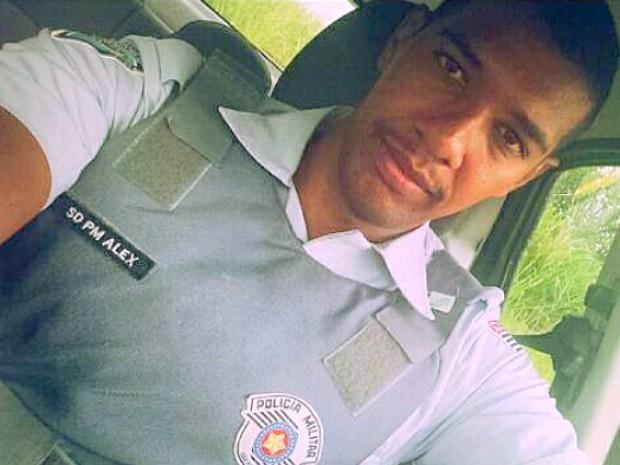 Policial militar rodoviário Alex de Souza da Silva morava em Araraquara (Foto: Arquivo pessoal)