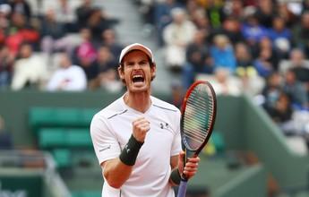 Murray supera gigante americano e  faz duelo com francês nas quartas