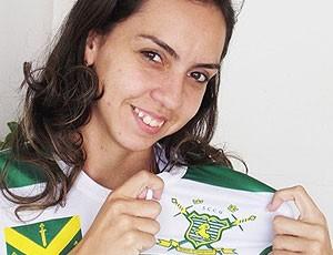 presidente Khézia Suille, do Sport Campina (Foto: Silas Batista)