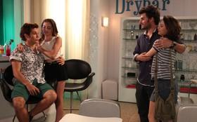 Estiloso e moderno! Veja fotos do novo 'DryBar' de Serguei e Flaviana