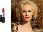 Confira quais são os batons e esmaltes das atrizes de 'Joia rara'  e 'Em família'