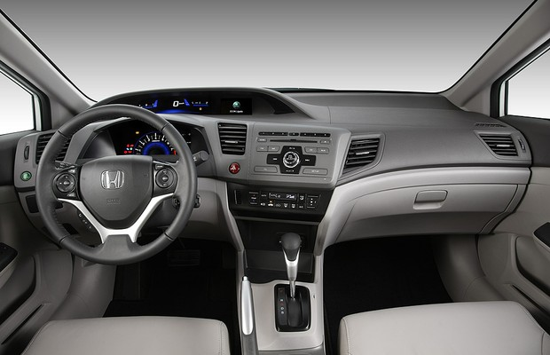 Honda Civic LXR 2.0 2013 (Foto: Honda)