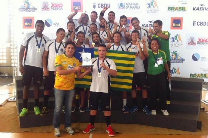 UFPI campeão da Liga do Desporto Universitário (Foto: Reprodução/Facebook)