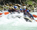 Descanso, que nada! Time austríaco se prepara para Champions fazendo rafting