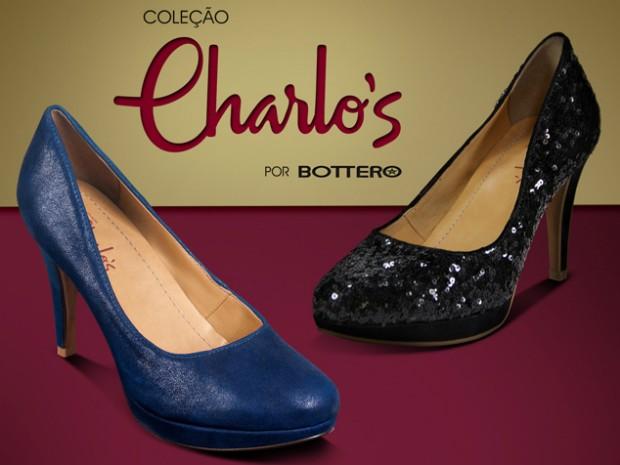 Charlô's lança linha exclusivas de sapato da Bottero  (Foto: Divulgação)