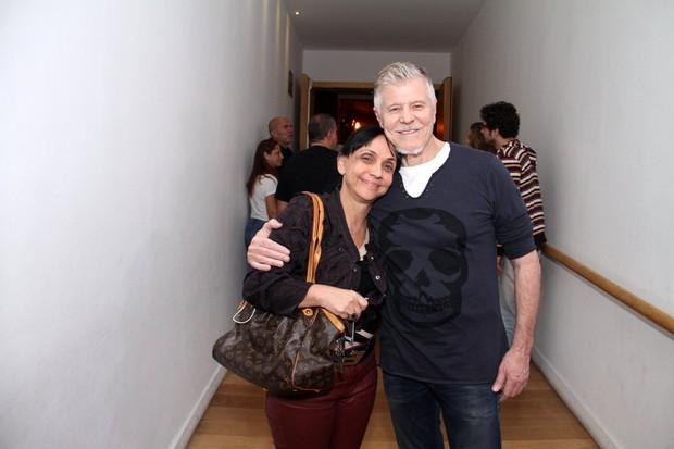 Cininha de Paula e Miguel Falabella (Foto: Thyago Andrade/AgBrazil News)
