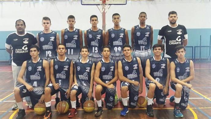 Basquete Prudente, Sub-16 Basquete Prudente (Foto: Isabela Monteiro Ribeiro / Divulgação)