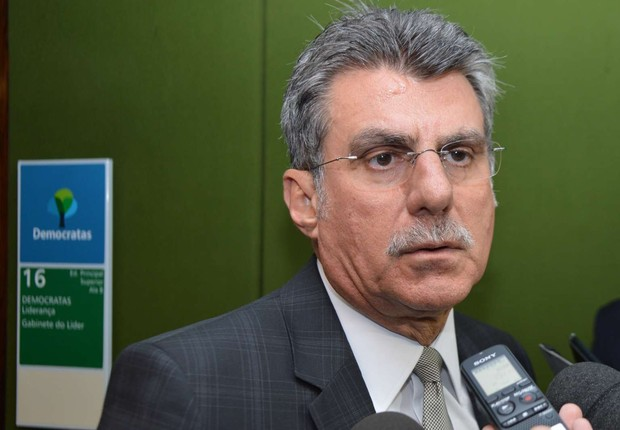 O senador Romero Jucá (PMDB-RR) (Foto: Antonio Cruz/Agência Brasil)