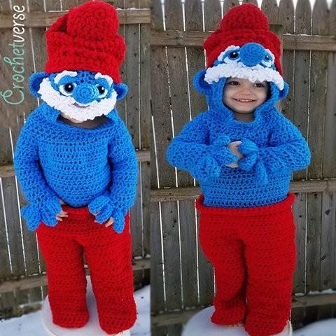 Jack de Smurf (Foto: Reprodução Crochetverse)