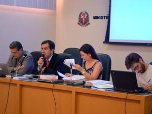 Equipe do Gaema, em Piracicaba,  solicitou redução da captação do sistema Cantareira (Foto: Thomaz Fernandes/G1)