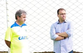 Kleina ameniza empate e diz que jogo contra o Uberlândia foi proveitoso