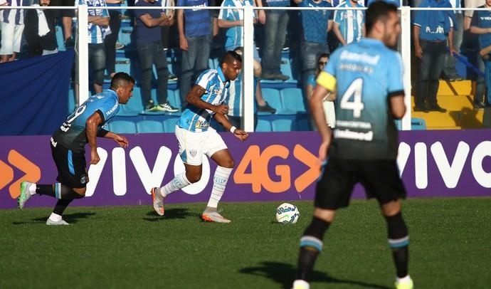 Anderson Lopes Avaí x Grêmio (Foto: Jamira Furlani/Avaí FC)