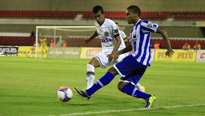 Márcio Lima, novo lateral do CSA (Foto: Ailton Cruz/ Gazeta de Alagoas)
