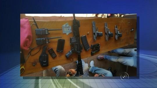 Polícia prende quadrilha suspeita de roubar banco no interior de SP