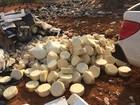 Mais de uma tonelada de queijo irregular é apreendida em Colméia