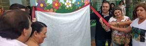 Prefeitura inaugura Jardim Sensorial na Escola Luiz Odassi