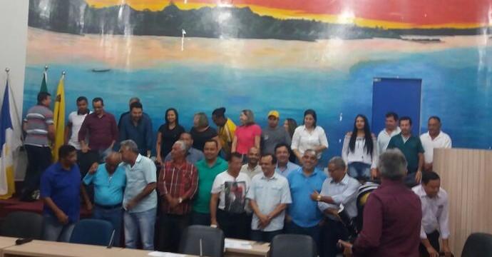 Nova diretoria do Interporto  (Foto: Interporto/ Divulgação)