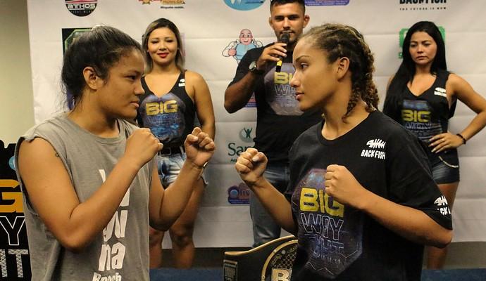 Big Way Fight terá luta feminina no topo do card (Foto: Emanuel Mendes/Divulgação)