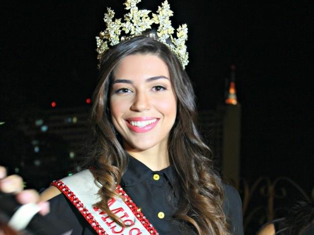 Vivian Amorim, miss Amazonas 2012 (Foto: Mônica Dias/G1 AM)
