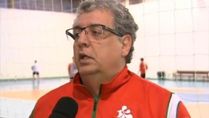 Reinaldo Simões, supervisor do Sorocaba Futsal (Foto: Reprodução/ TV TEM)