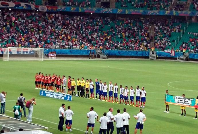 Arena Fonte Nova; Bahia x Shakhtar (Foto: Eric Luis Carvalho)