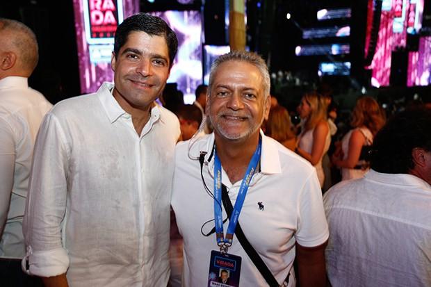 O prefeito de Salvador, ACM Neto, e o presidente da Saltur – Empresa Salvador Turismo, Isaac Edington (Foto: Ricardo Cardoso / G.LAB)